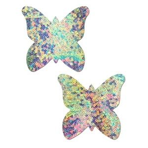 Pastease Holographic Sequin Butterfly Pasties